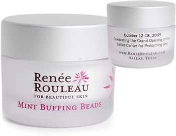 Renee Rouleau mint buffing beads