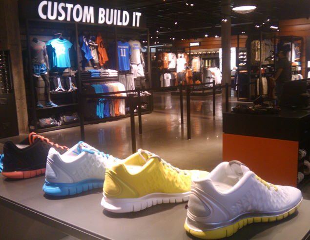nike store northpark number