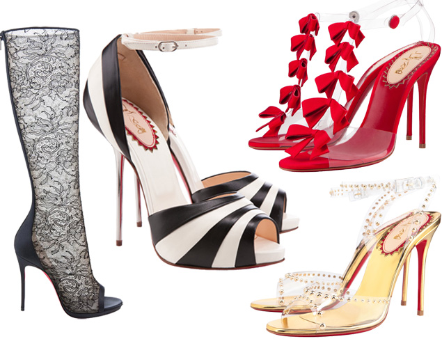 8a340b31e16 Today's Lunch Break: Christian Louboutin 20th Anniversary Collection ...