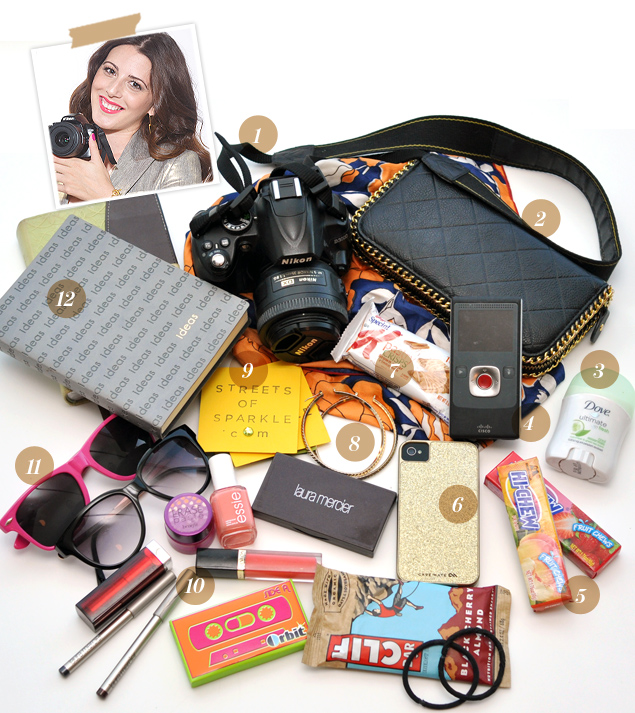 What's in Streets of Sparkle Blogger Jaclyn Welch's Bag?