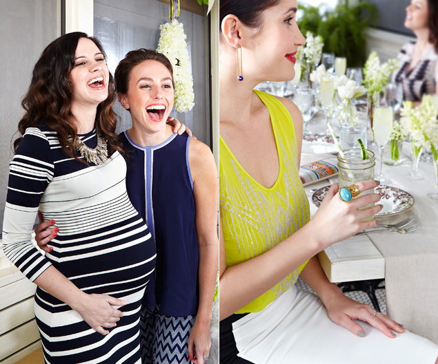 Let S Drool Over The Outfits From This Baby Shower Yes Baby Shower