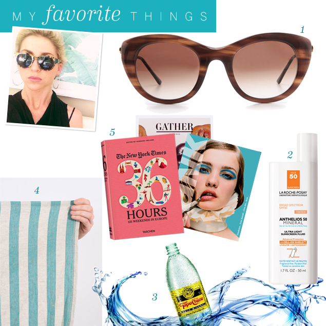 Laura Noble's 5 Favorite Poolside Accessories