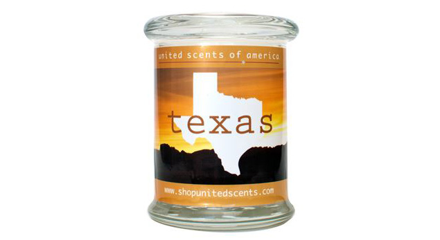 United Scents of American Texas candle