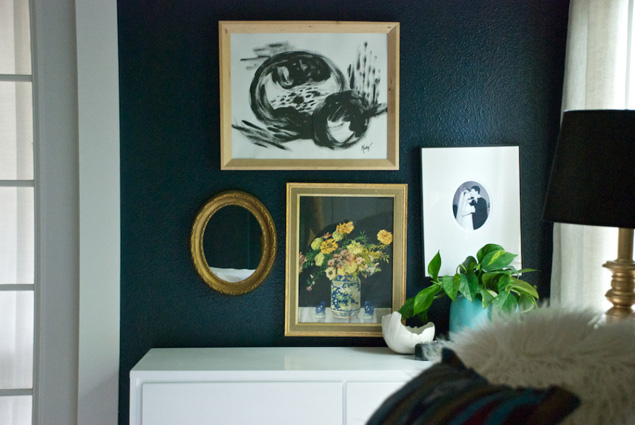 photography of Misty Spencer's bedroom courtesy of Our Style Stories