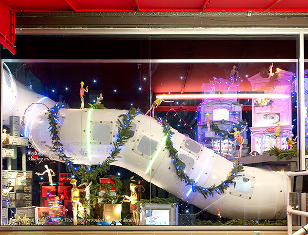 Gorischek's 2011 holiday display at the Neiman Marcus Downtown (photo courtesy of Neiman Marcus)