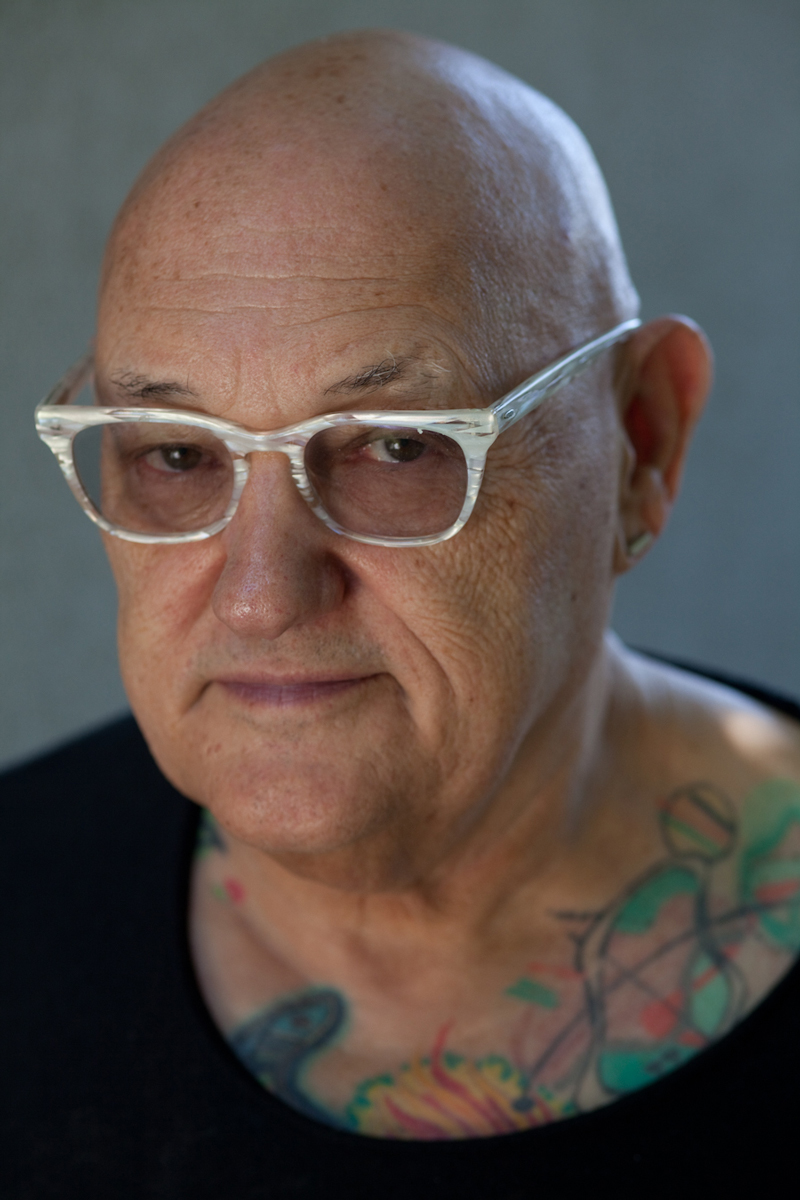 Ink-Stained Writer: The author today, a half-century<br>removed from T.J. and more than 50 books later.