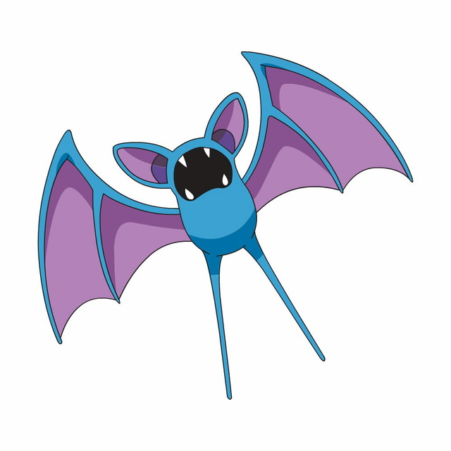 This is a Zubat. Obviously.