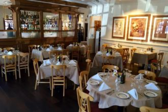 The new dining room at Adelmo's.