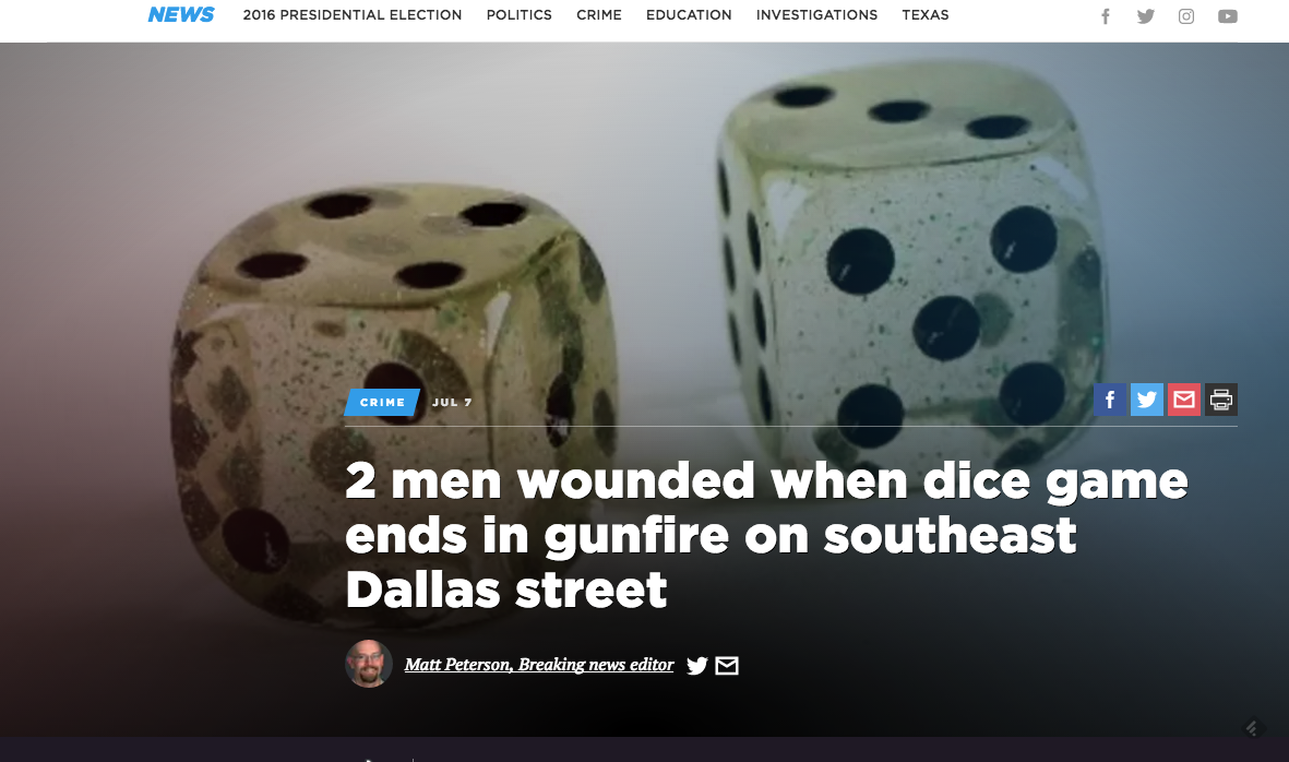 My Favorite Complaints About the New Dallas Morning News