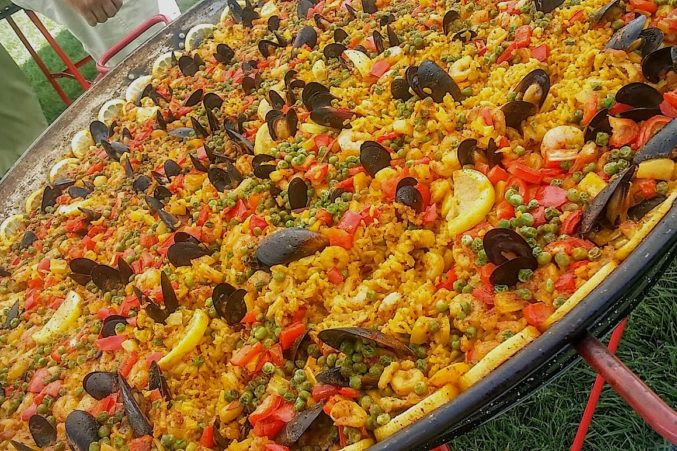 Seafood Paella from Sonoma's Paella Guy