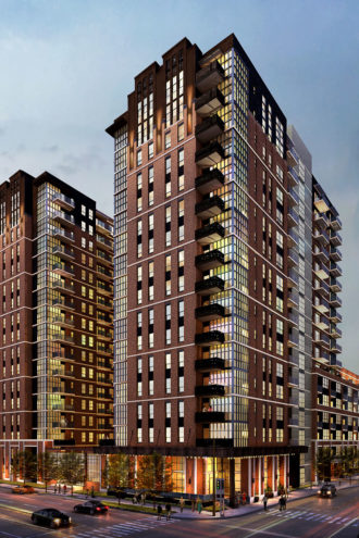 New multifamily projects include The Case Building, which is being developed in Deep Ellum by StreetLights Residential. photography from Streetlights residential