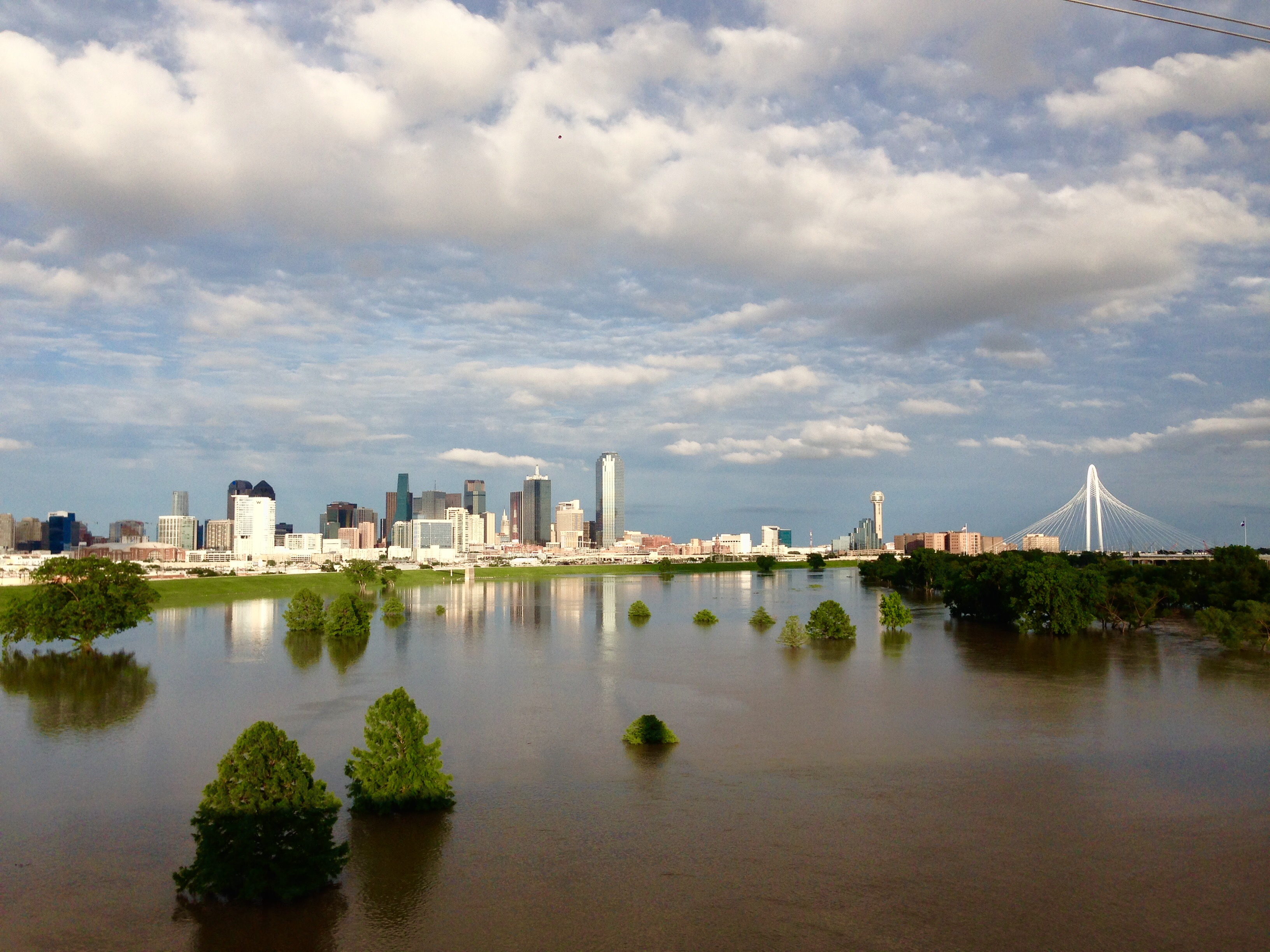 The Trinity after rain (photo by Tim Rogers)