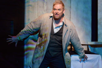 Coming Alive: Morris in the Dallas Opera's 2014 production of Die tote Stadt. His first musical hero was Larry Gatlin.