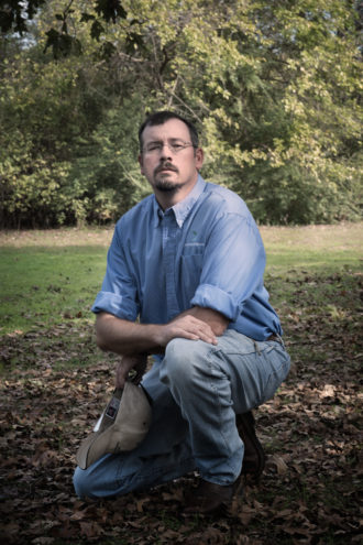 That'll Do, Pig: Biologist Brett Johnson was hired by the Dallas parks department to deal with the hog problem. He is working to set up 15 to 18 traps in secret locations around the city.