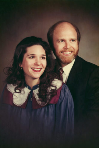 Picture of Health: Tina and John Peyton—seen here in the early 1980s—were married for 35 years. They disagree on how happy that time was.