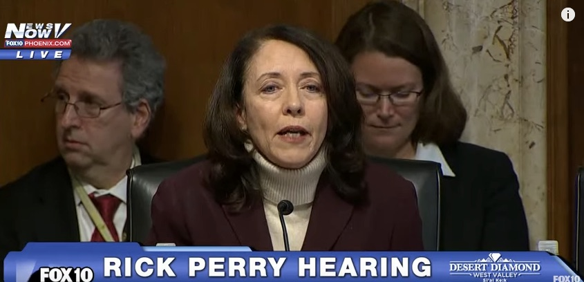 """Governor Perry, before we proceed with today's hearing, would you care to make an opening statement?"""