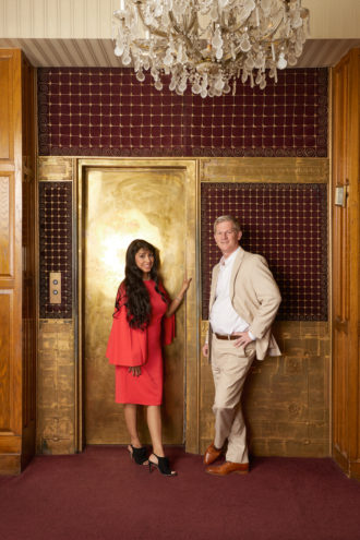 Redevelopment projects undertaken by the husband-and-wife team of Jim Lake and Amanda Moreno include the Ambassador Hotel.