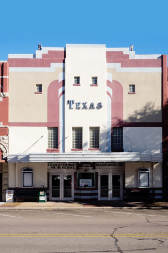 Texas Theater in downtown Waxahachie.