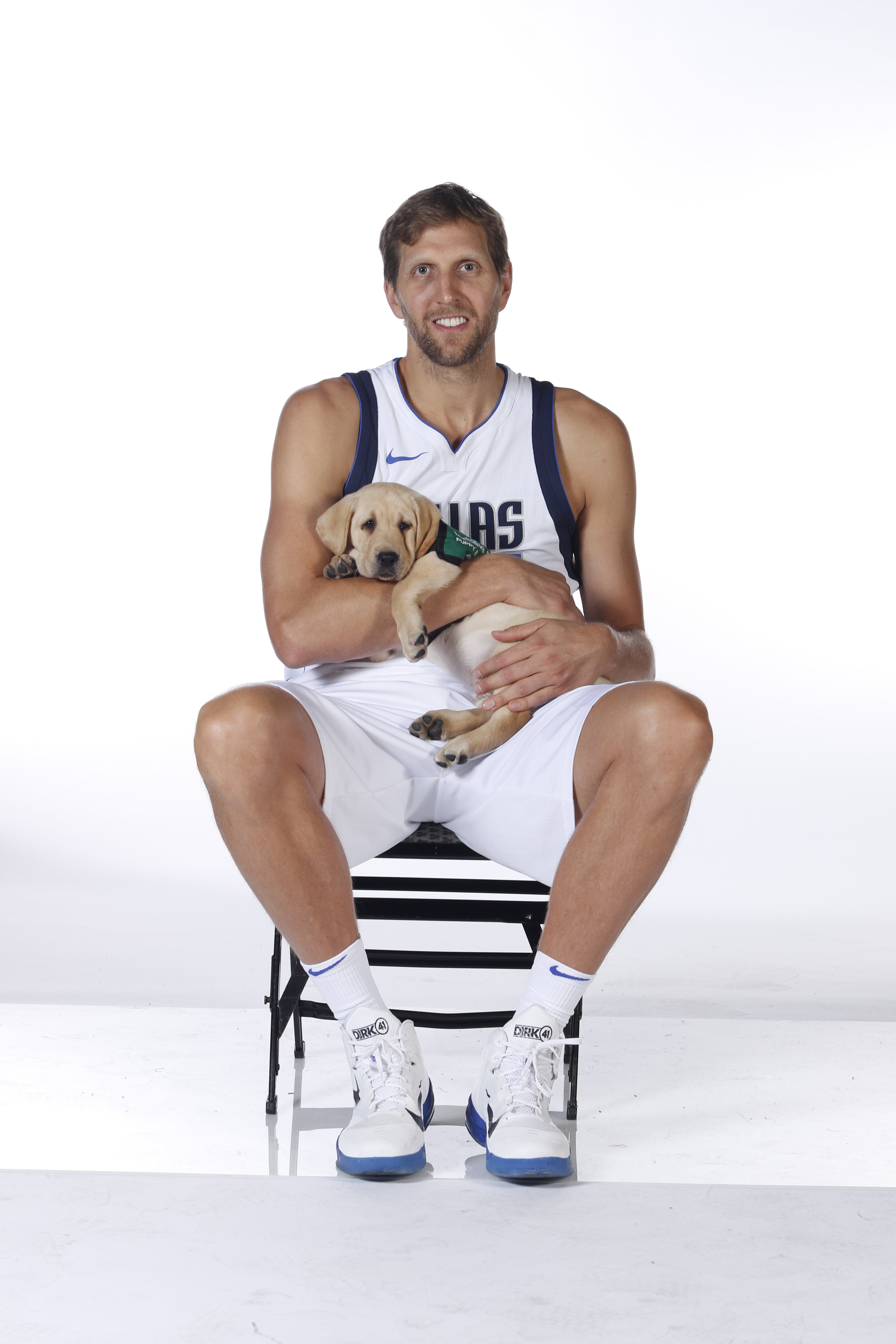 new style 052d1 e7b3c Here is Dirk Nowitzki and a Dog Named Swish - D Magazine
