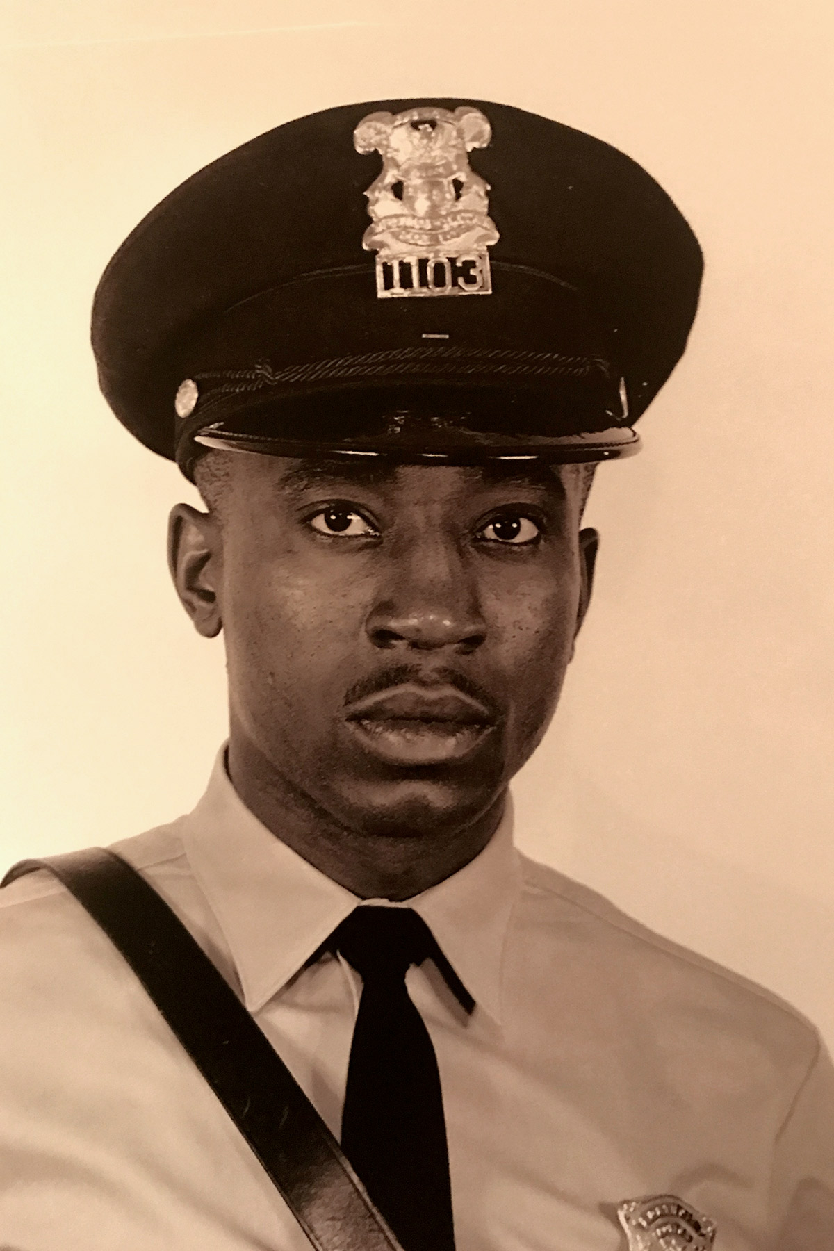 Dallas Police Chief Renee Hall's late father Ulysses Brown.