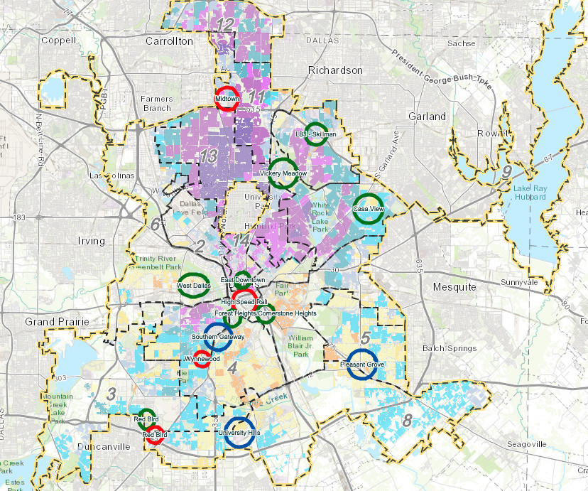 These Are the Neighborhoods Dallas\' Housing Policy Will Target for ...