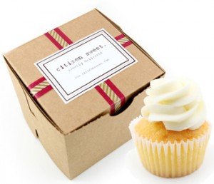 Citizen Sweet cupcakes