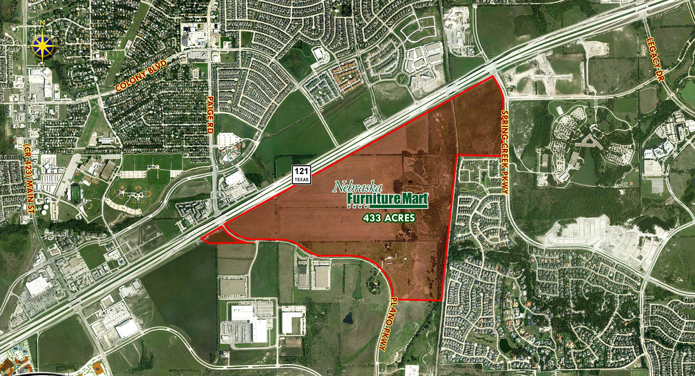 Nebraska Furniture Mart Sparking Land Deals In The Colony D Magazine