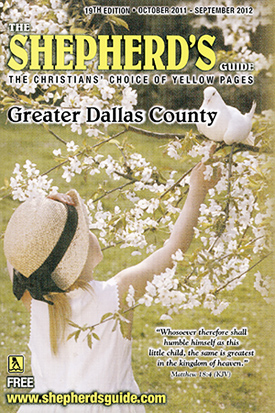 dallas shepherds guide christian yellow pages