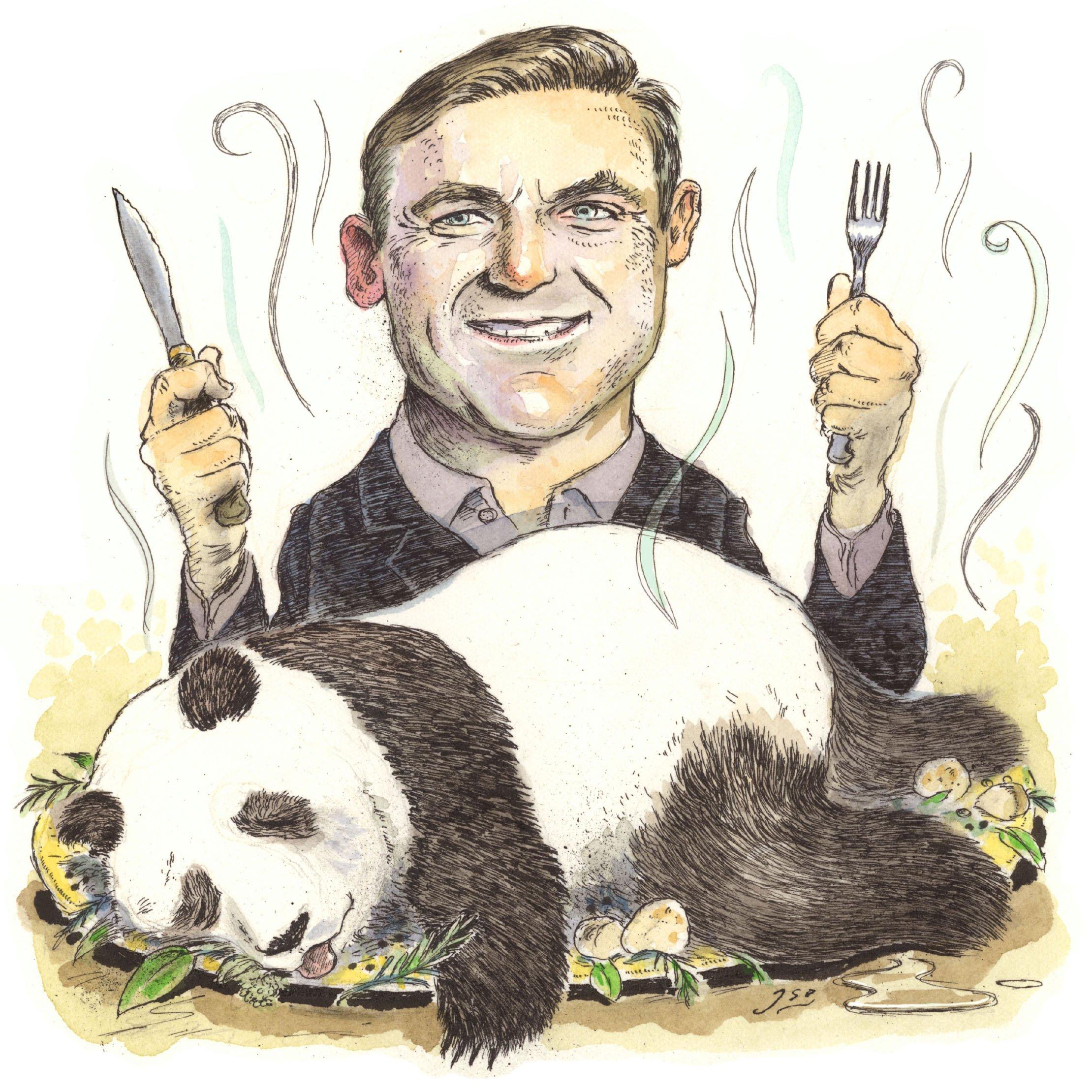 Follow-up question: Has Craig James ever eaten a panda steak?