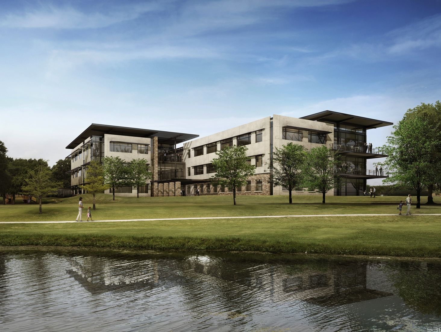 343d48fae731 Rendering of Tyler Technologies  new Plano headquarters