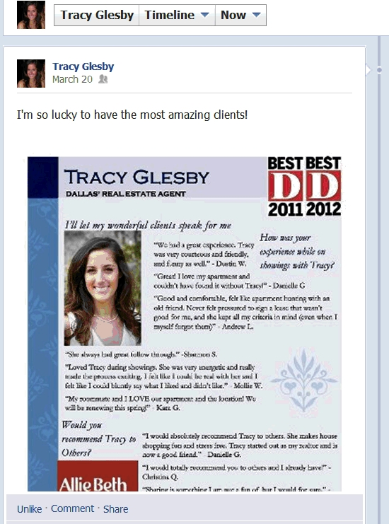 tracy glesby my new favorite real estate agent d magazine