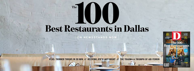 Update We Ve Now Revealed Our Full List Of The 100 Best Restaurants In Dallas Check It Out 10