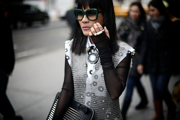 NYFW New York Fashion Week Street Style 2013 Dallas 538