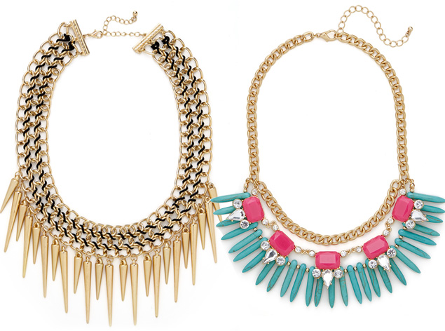 Courtney Kerry for Bauble Bar necklaces