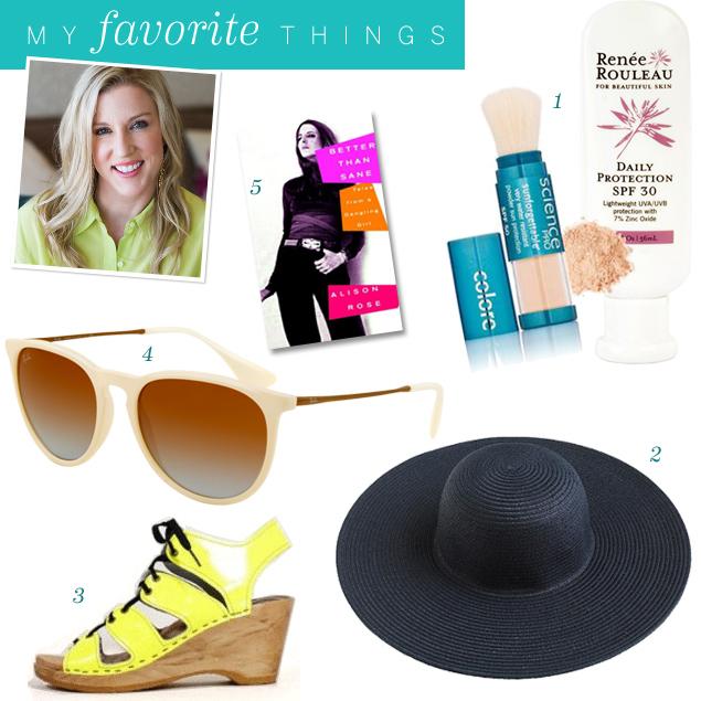 Renee Rouleau's 5 Favorite Poolside Accessories