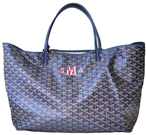 Sally's Goyard bag.