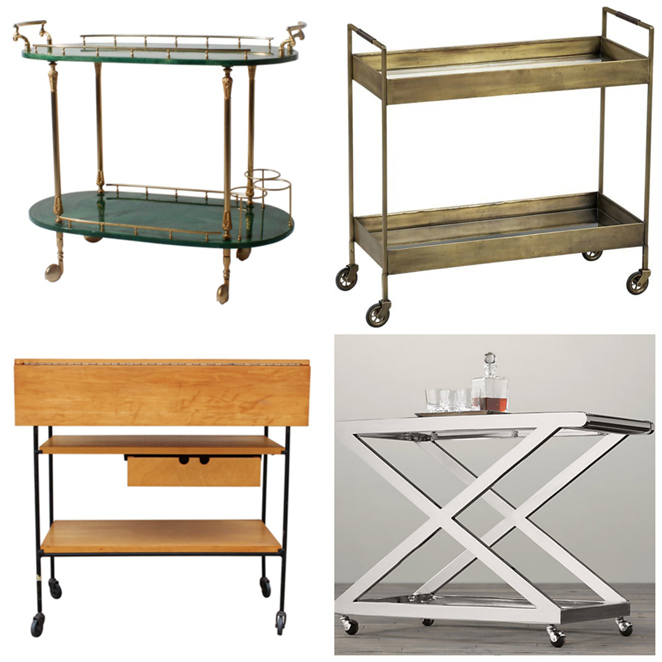 Raising The Bar Obsessed With Bar Carts D Magazine