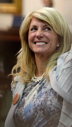 """See the October issue of """"D Magazine"""" for a look at the electoral that might give Wendy Davis a shot in the gubernatorial race.  Photo: Associated Press."""