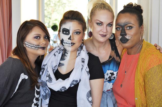 Blushington Dallas Halloween