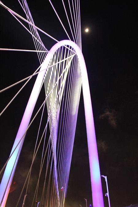 Margaret Hunt Hill Bridge (File photo)