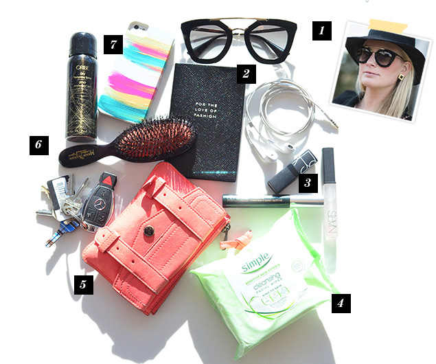 What's in Merritt Beck's bag?