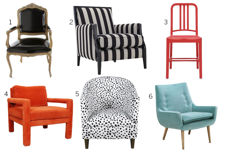 What We Re Loving Accent Chairs D Magazine