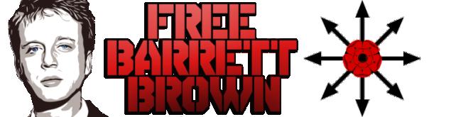 Free Barrett Brown banner