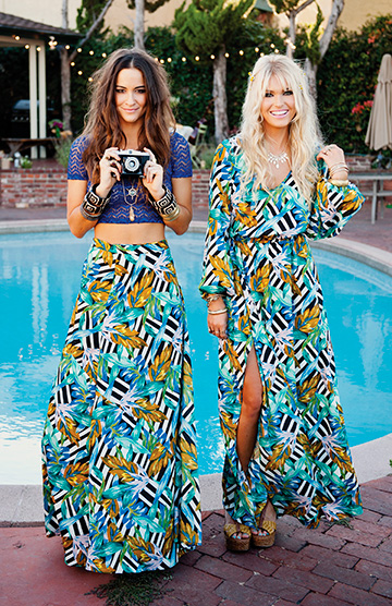 Show Me Your Mumu designers Cammy Herbert and Cologne Schmidt