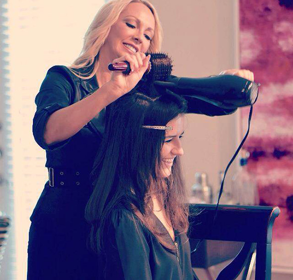 No salon hustle and bustle in your house. (photo courtesy of BlownAway)