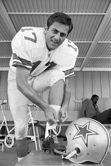 Don Meredith in his playing days.