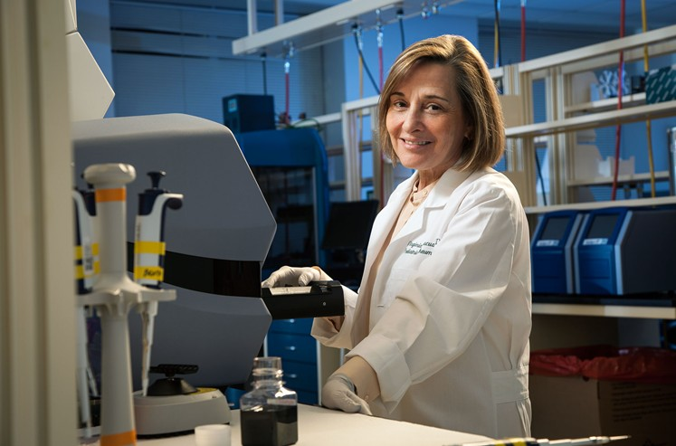 Dr. Virginia Pascual, winner of D CEO's Achievement in Medical Research. (Photo: Ben Garrett)
