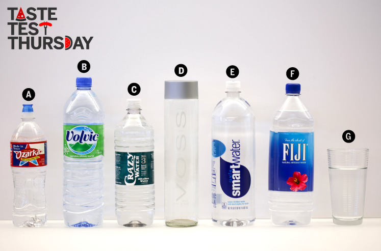 Taste Test Thursday Bottled Water D Magazine