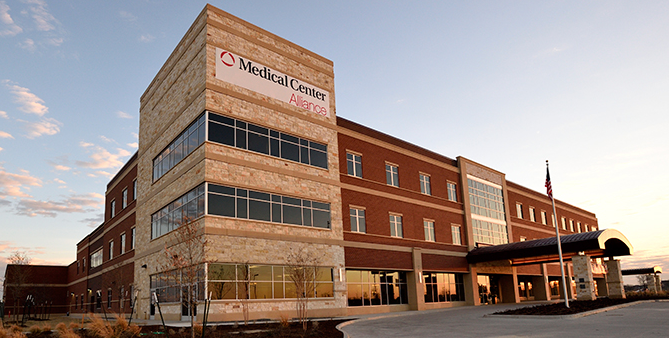 HCA's new Alliance-area hospital, which began seeing patients on Feb. 19, 2015. (Credit: HCA)
