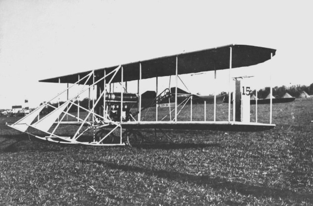 Wright Model C aeroplane  (photo via Wikimedia Commons)